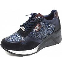 CETTI - Sneaker - glitter navy