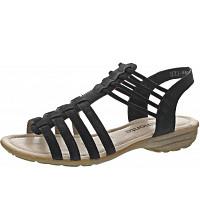 Remonte - Sandale - schwarz/graphit