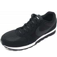 NIKE - MD Runner 2 - Sneaker - black/white