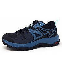 SALOMON - X Radiant W - Walkingschuh - ebony/bluestone