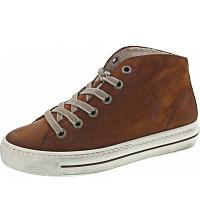 PAUL GREEN - Sneaker - cognac-schwarz