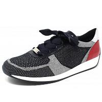 ARA - Lissabon - Sneaker - blau silber rot