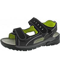 RICOSTA - TAJO - Sandaletten - oliv/schwarz
