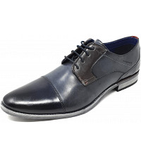 BUGATTI - Luano - Businessschuh - drk. blue grey
