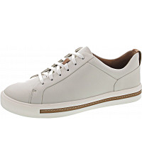 CLARKS - Un Maui Lace - Sneaker - White Leather