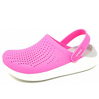 CROCS - Lite Ride Clog - Clogs - pink/white