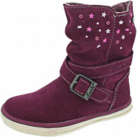 LURCHI - Cina-Tex - Stiefel - deep purple