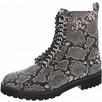La Strada - Schnürboots - snake grey