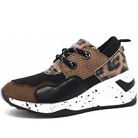 Monshoe - Sneaker - blk taupe