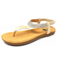 COSMOS COMFORT - by 2 GO - Sandalette - 699 gold