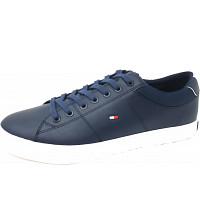 TOMMY HILFIGER - Essintial Collar Vulc - Sneaker - midnight