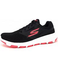 SKECHERS - Go walk cool - sportlicher Schnürer - BKHP black/hot pink