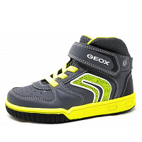 GEOX - Klettschuh - grey lime
