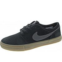 NIKE - SB Portmore II Solar - Sneaker - black-dark grey-gum