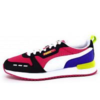 PUMA - Puma R78 - sportlicher Schnürer - schwarz/weiss/pink