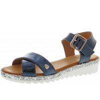 Black - Sandale - blau