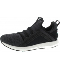 Puma - Mega NRGY Heather Knit Jr - Sneaker - iron gate-puma black