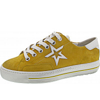 PAUL GREEN - Sneaker - mango-white