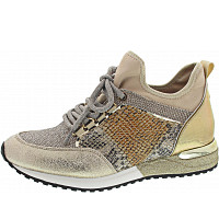 LA STRADA - Sneaker - cracked gold