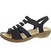 RIEKER - Sandalette - pazifik