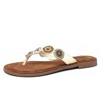 LAZAMANI - Da.-Schuh - Sandale - offwhite