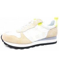 GUESS - Sneaker - white neongelb