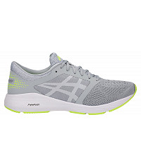 ASICS - mid grey/white/safety yellow