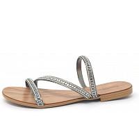 ESPRIT - Da.-Sandale - Pantolette - gunmetal