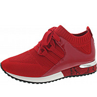 LA STRADA - Sneaker - knitted red