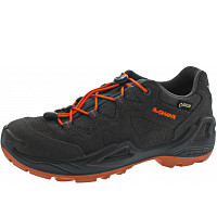 LOWA - Diego GTX Lo - Wanderschuh - anthrazit-orange