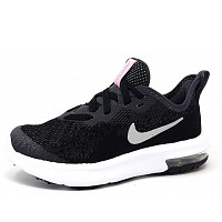 NIKE - Air Max Sequent 4 - Sportschuh - 001 black/met. silver