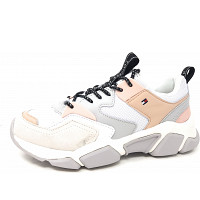 TOMMY HILFIGER - Cosy CHunky - Sneaker - stone gray