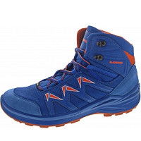 LOWA - Innox Pro GTX Mid Junior - Wanderschuh - blau-orange
