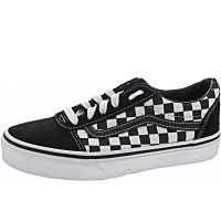VANS - YT Ward - Sneaker - checkered black-true whit