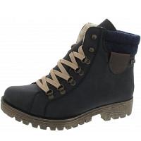 RIEKER - Boots - mare-navy-kastanie