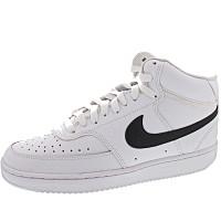 NIKE - Court Vision mid - Sneaker - white-black