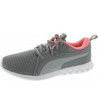 Puma - Carson 2 Wns - Sneaker - quarry-soft fluo peach