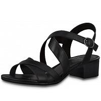 JANA - Sandalette - black combi