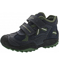 GEOX - Savage - Klettstiefel - navy-green