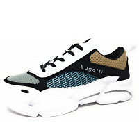 BUGATTI - Shiggy - Sneaker - 2010 white black