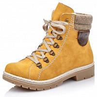 RIEKER - Boots - honig wood chestnut