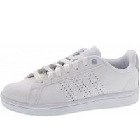 ADIDAS - CF Advantage CL - Sneaker - ftwwht-ftwwht-earblu
