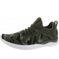 Puma - Ignite Flash Camo - Sneaker - forest-laurel wreath-blk
