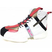 ILVI - Malia - Sneaker high - weiß/rot/schwarz