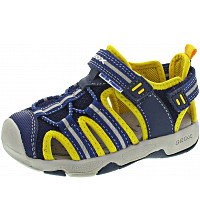 GEOX - B Sandal Multy Boy - Minilette - navy/yellow