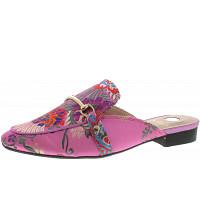 La Strada - Clogs - lilac flower