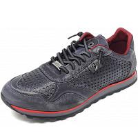 CETTI - Sneaker - antracita- rojo