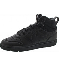 NIKE - Borough Mid 2 Bood (GS) - Sneaker - black-black