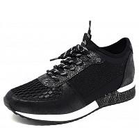 LA STRADA - Sneaker - 1401 cracked black
