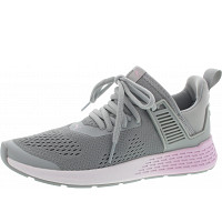 Puma - Insurge Eng Mesh - Sneaker - quarry-wht-winsome orchid